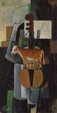 Корова и скрипка (Малевич К.С.)