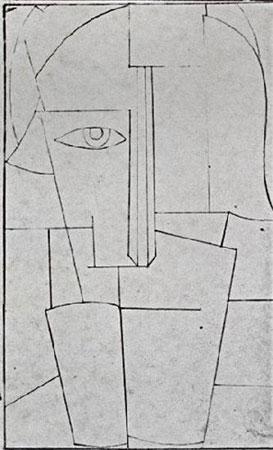Эскиз к портрету Ивана Клюна