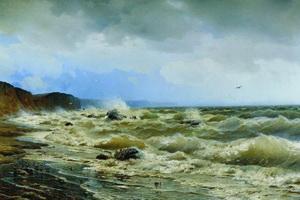 Очаковская пристань (Р.Г. Судковский, 1881 г.)