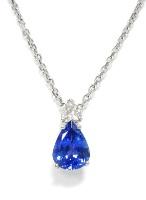 Ожерелье из сапфира