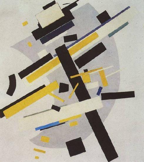 Супрематизм. (Supremus №58, желтое и черное).