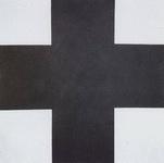 Картина Малевича Черный крест.
