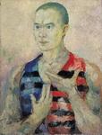 Казимир Малевич Портрет юноши.