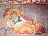 Христос Анапесон (М. Панеселин, собор Протата)