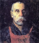 Портрет рабочего (Краснознаменец Жарновский).