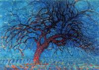 Красное дерево (П. Мондриан)