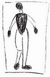 Картина Малевича Стоящая фигура.