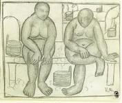Картина Казимира Малевича В бане.