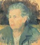 Портрет Казимира Малевича Портрет матери.