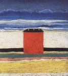 Казимир Северинович Малевич. Красный дом.