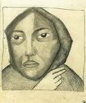 Портрет Казимира Малевича Молящаяся женщина.