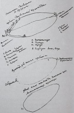 Состояние живописи в 1924 году. График. 1924