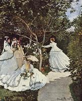 Женщины в саду (К. Моне, 1866-1867 г.)