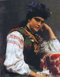 Портрет С.А. Драгомировой (И.Е. Репин)
