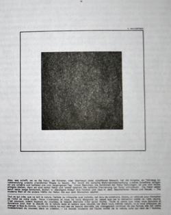 Черный квадрат. Страница из журнала Merz (1924 г.)