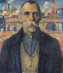 Портрет ударника (Краснознаменец Жарновский).