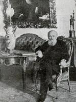 А.С. Суворин у себя дома (К. Булла)