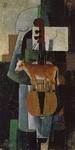 Картина Корова и скрипка.