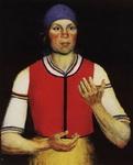 Казимир Северинович Малевич. Картина Работница.