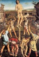 Антонио и Пьетро Поллайоло. Святой Себастьян. 1475. Лондон