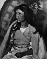 Индейская девушка из Санта-Клары