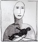 Казимир Северинович Малевич. Картина Материнство.