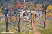 Весна - цветущий сад. 1928-1929