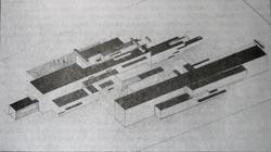 Сегодняшние сооружения (1924 г.)