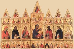 Полиптих Св. Екатерины (Мартини Симоне)