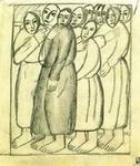 Казимир Северинович Малевич. Крестьянки в церкви.