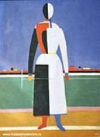 Женщина с граблями. 1930-1931