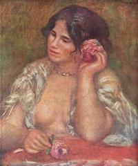 Габриэль с розой (Ж. Ренуар, 1911 г.)