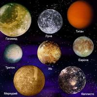 Сравнение размеров планет